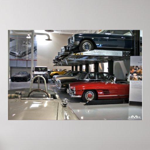 Colección de la obra clásica de Mercedes Posters
