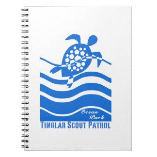 Colección de la patrulla del explorador de Tinglar Libro De Apuntes