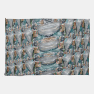 colección de la piedra preciosa de la perla 3d toalla de cocina