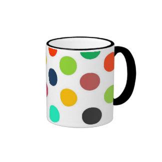 Colección de la polca taza a dos colores