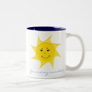 Colección de la sol taza de café