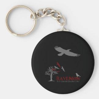 Colección de la sombra de Ravenkin Llavero Redondo Tipo Pin