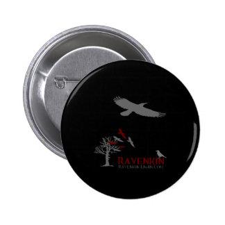 Colección de la sombra de Ravenkin Pin Redondo 5 Cm