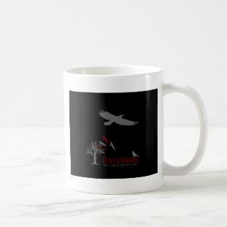 Colección de la sombra de Ravenkin Taza Básica Blanca