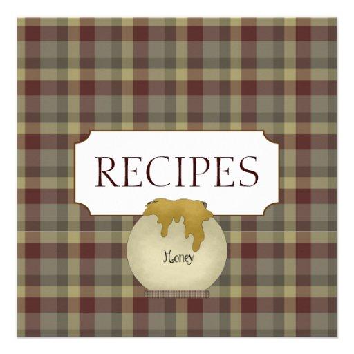Colección de la tarjeta de comercio de la receta d invitacion personalizada