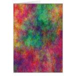Colección de la tarjeta de la nube del arco iris