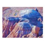 """Colección """"de las colinas inclinadas azul"""" postal"""