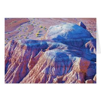 """Colección """"de las colinas inclinadas azul"""" tarjeta de felicitación"""