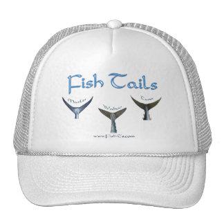 Colección de las espinas de pescado por FishTs.com Gorras De Camionero