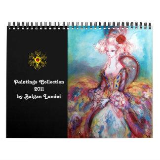 Colección de las pinturas de Bulgan Lumini - 2011 Calendarios