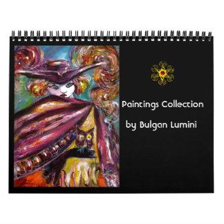 Colección de las pinturas de Bulgan Lumini - 2016 Calendario