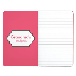 Colección de las recetas de la abuela cuaderno grapado