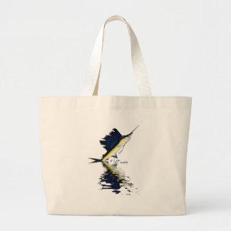 Colección de las reflexiones de los pescados de ca bolsa tela grande