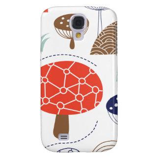 Colección de las setas de Emma Janeway Funda Para Galaxy S4