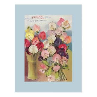 Colección de las virutas para rellenar del vintage postal
