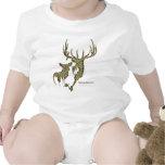 Colección de los ciervos por GulfCoastCamo Traje De Bebé