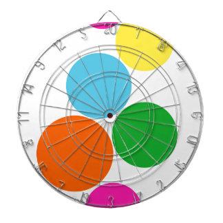 colección de los colorcolors tablero de dardos