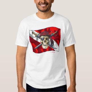 Colección de los cráneos por DiversDen Remeras