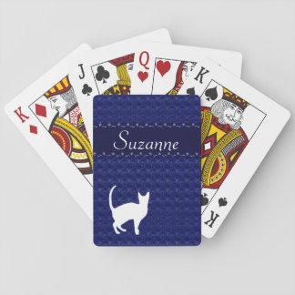 Colección de los gatos de la abrazo - naipes barajas de cartas