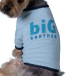 COLECCIÓN de los HERMANOS - hermano mayor {azul} Camisetas De Mascota