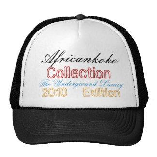 Colección de los hombres de Africankoko 2010 Gorras De Camionero