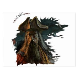 Colección de los piratas/de los cráneos por FishTs Tarjeta Postal