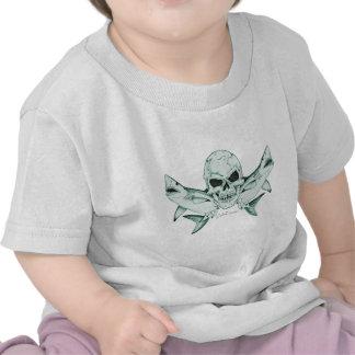 Colección de los piratas/de los cráneos por camiseta