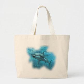Colección de los tiburones por FishTs.com Bolsa Tela Grande