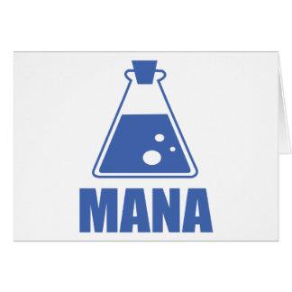 Colección de Mana por diseño del druida Tarjeta De Felicitación
