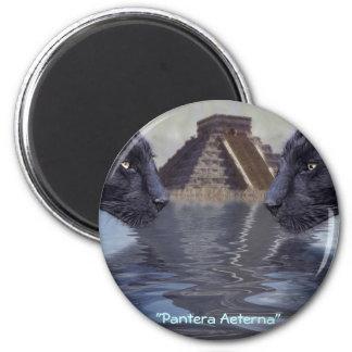 Colección de México de la pantera negra Imán Redondo 5 Cm