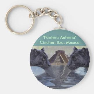 Colección de México de la pantera negra Llavero Redondo Tipo Pin