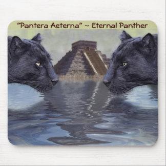 Colección de México de la pantera negra Tapete De Ratones