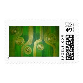 Colección de moneda sellos
