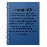 Colección de Namaste Libros De Apuntes Con Espiral