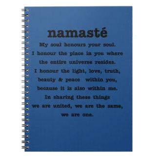 Colección de Namaste Note Book