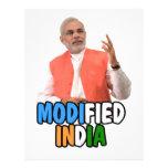 Colección de Narendra Modi Plantilla De Membrete