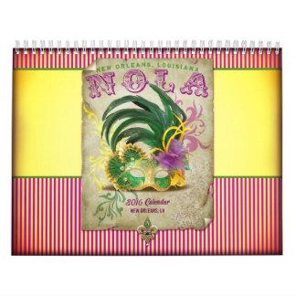 Colección de New Orleans Calendarios