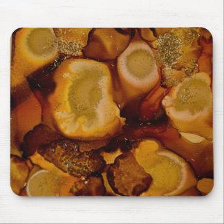 Colección de oro de Geode Mouse Pads
