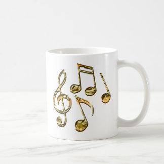 Colección de oro del amante de la música de la taza clásica