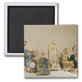 Colección de Pendules de París Imán Cuadrado