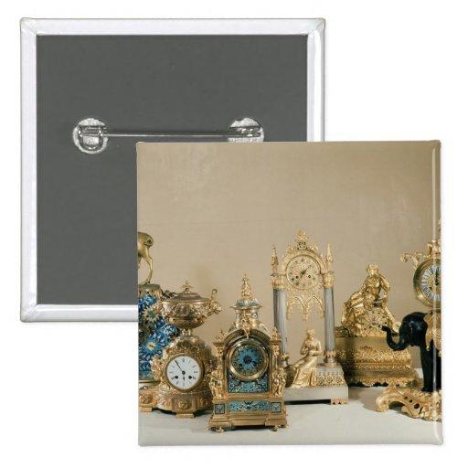 Colección de Pendules de París Pin Cuadrada 5 Cm