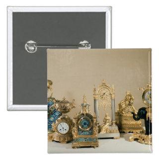 Colección de Pendules de París Pin Cuadrado