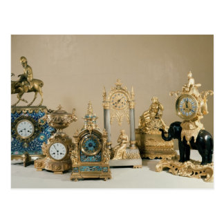 Colección de Pendules de París Tarjetas Postales