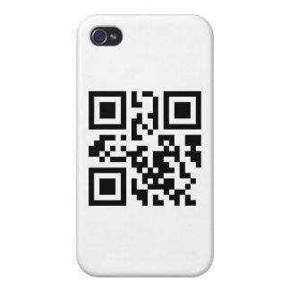 Colección de QRUrl iPhone 4 Carcasas