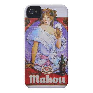 Coleccion de Regalos Anuncio Cerveza Vintage iPhone 4 Fundas