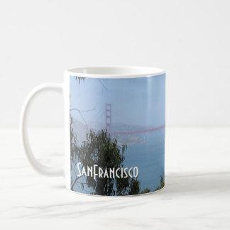 Colección de San Francisco - puente Golden Gate Tazas De Café