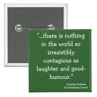 colección de Scrooge de la risa- Pin Cuadrada 5 Cm