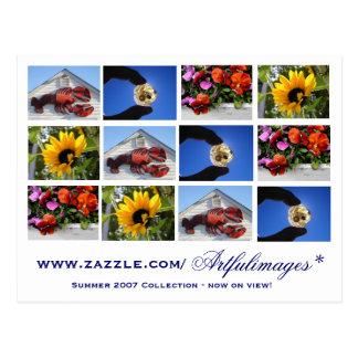Colección de verano 2007 tarjetas postales