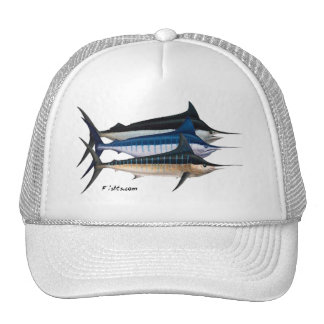 Colección del agua salada por FishTs.com Gorro