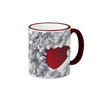 Colección del amante de las palomitas tazas de café